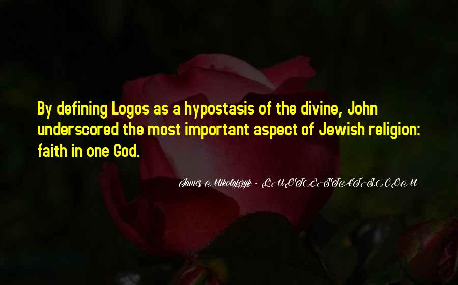Quotes About Jewish Religion #1489599