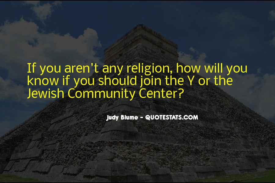 Quotes About Jewish Religion #1529283