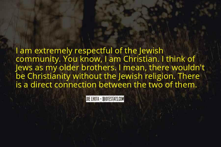 Quotes About Jewish Religion #1548349