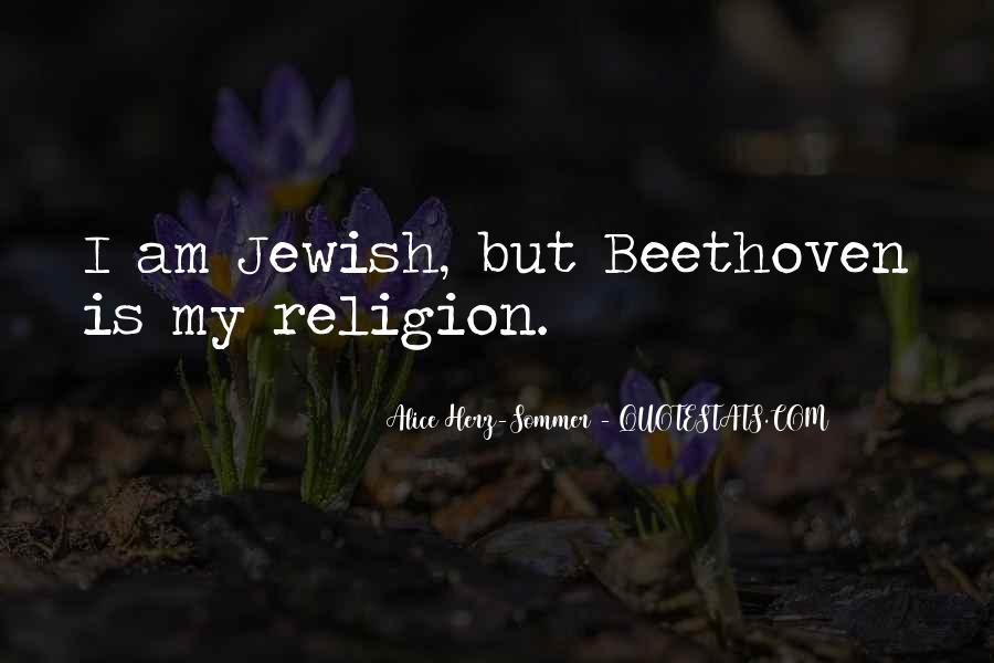 Quotes About Jewish Religion #186076
