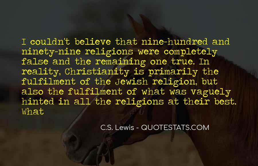 Quotes About Jewish Religion #194191