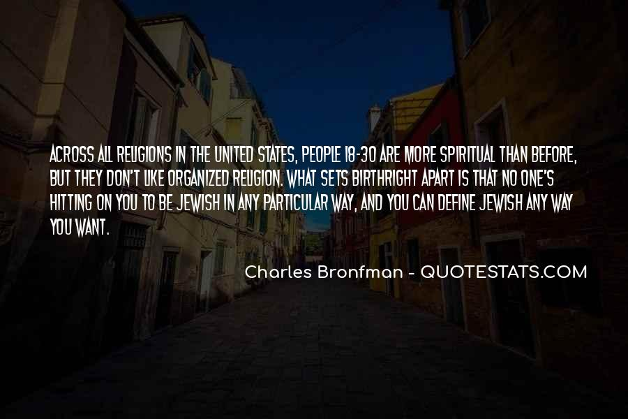 Quotes About Jewish Religion #882118