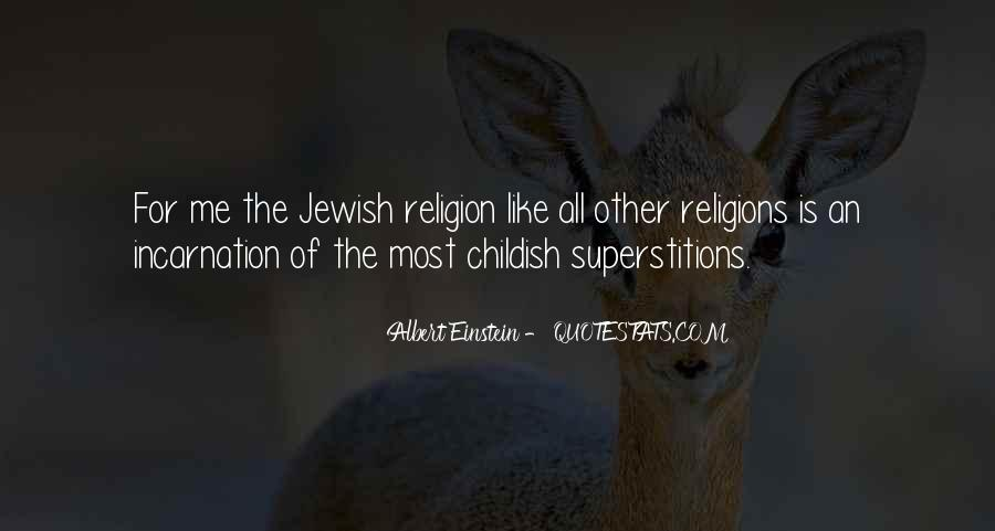 Quotes About Jewish Religion #888994