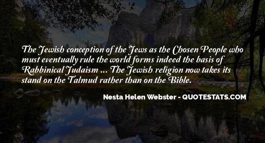 Quotes About Jewish Religion #909728