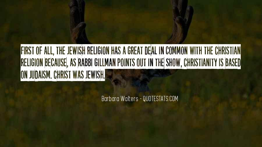 Quotes About Jewish Religion #970594
