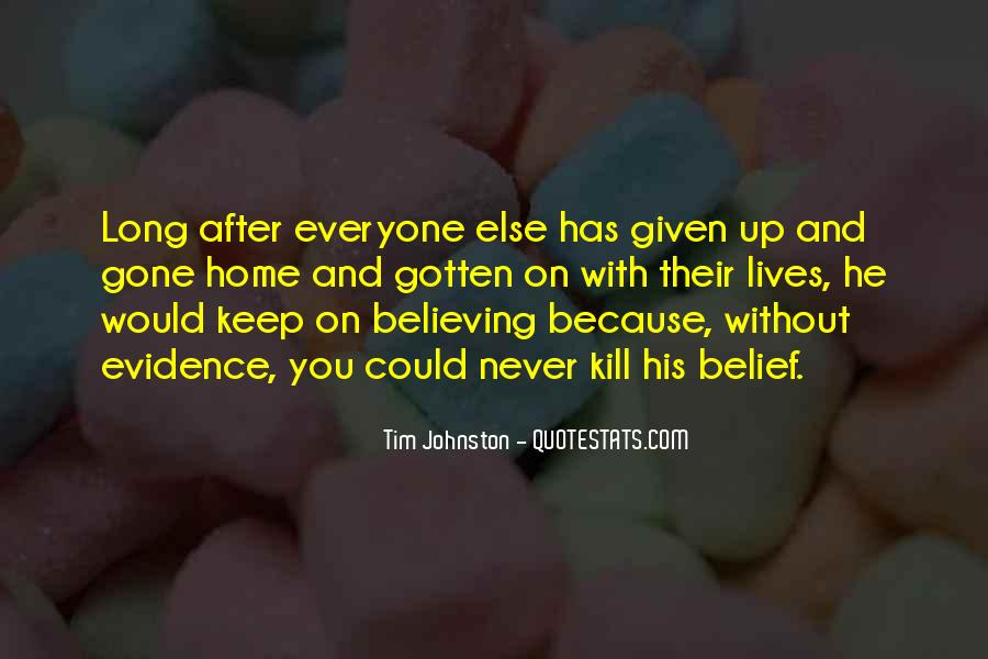 Quotes About Believing In Yourself When Others Don't #30732