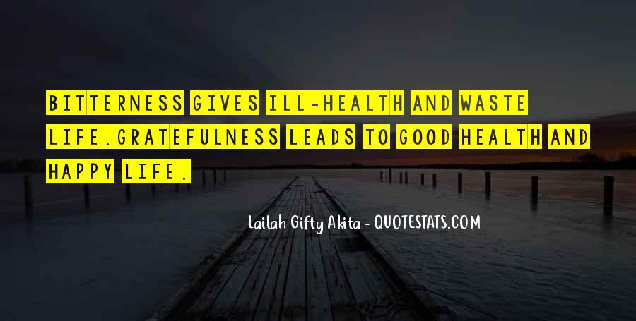 Quotes About Gratefulness And Happiness #1872852