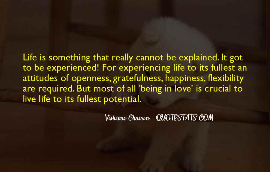 Quotes About Gratefulness And Happiness #431912