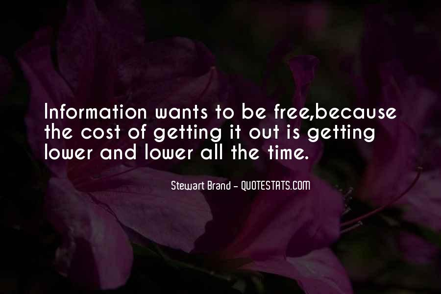 Quotes About Getting Something For Free #38800