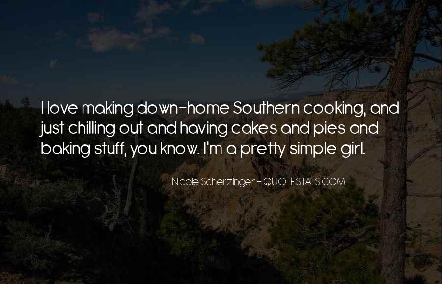 Quotes About Baking Pies #621359