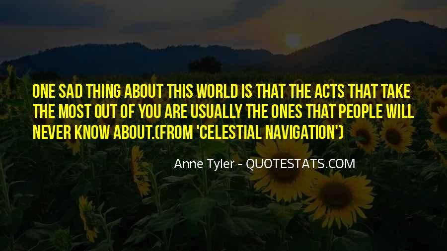 Quotes About Celestial Navigation #1023218