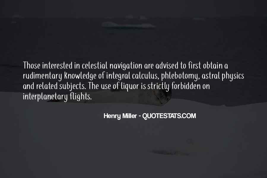 Quotes About Celestial Navigation #343573