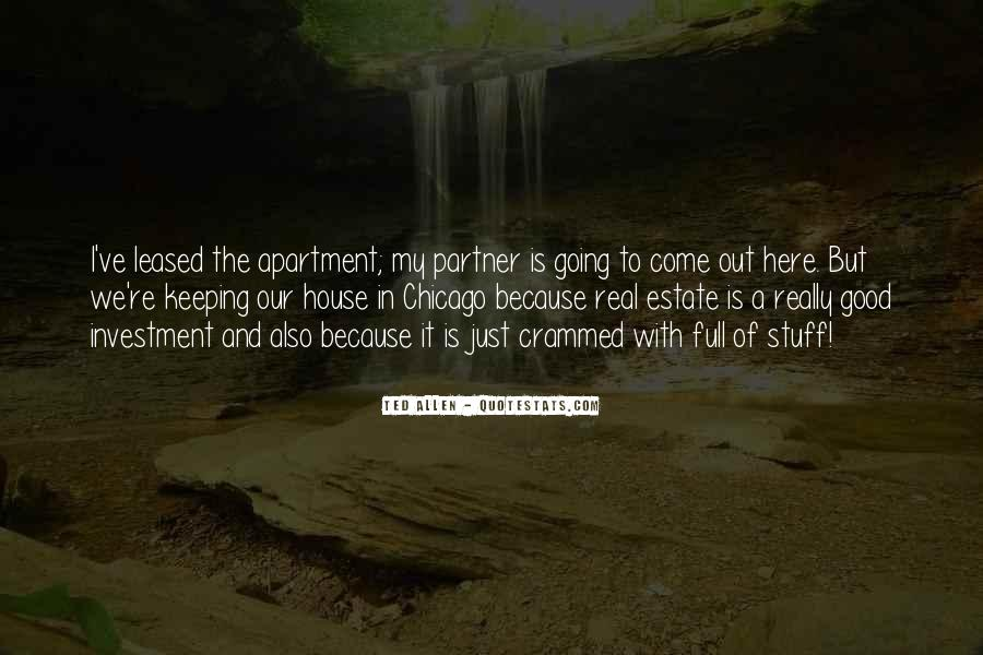 Quotes About Real Estate Investment #1081328