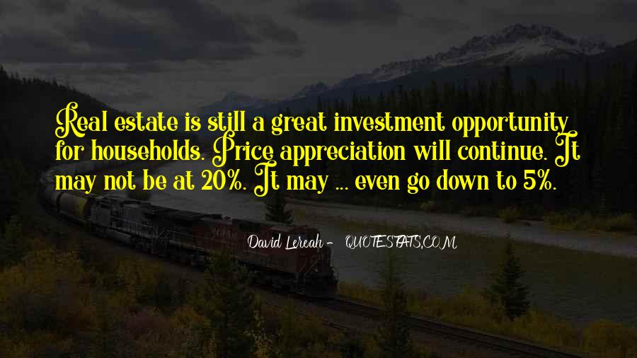 Quotes About Real Estate Investment #1413227