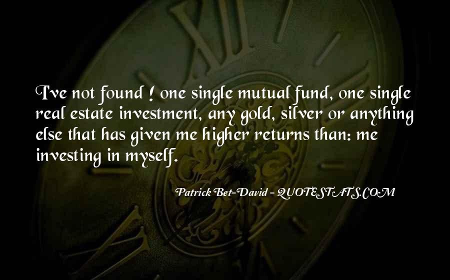 Quotes About Real Estate Investment #1622364