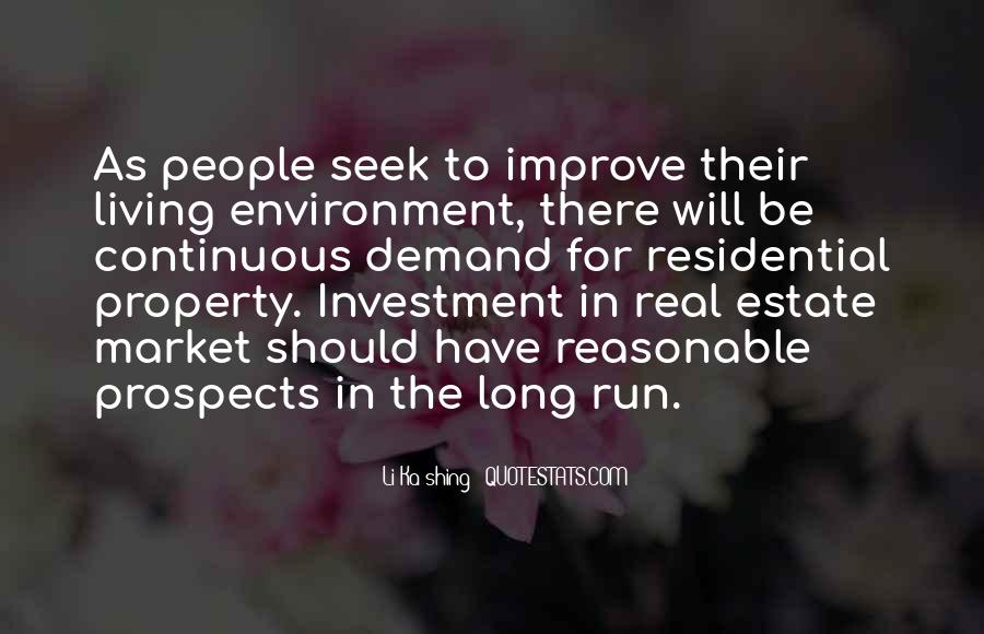 Quotes About Real Estate Investment #406252
