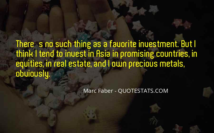 Quotes About Real Estate Investment #709257
