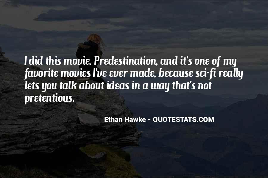 Quotes About Sci Fi Movies #671821