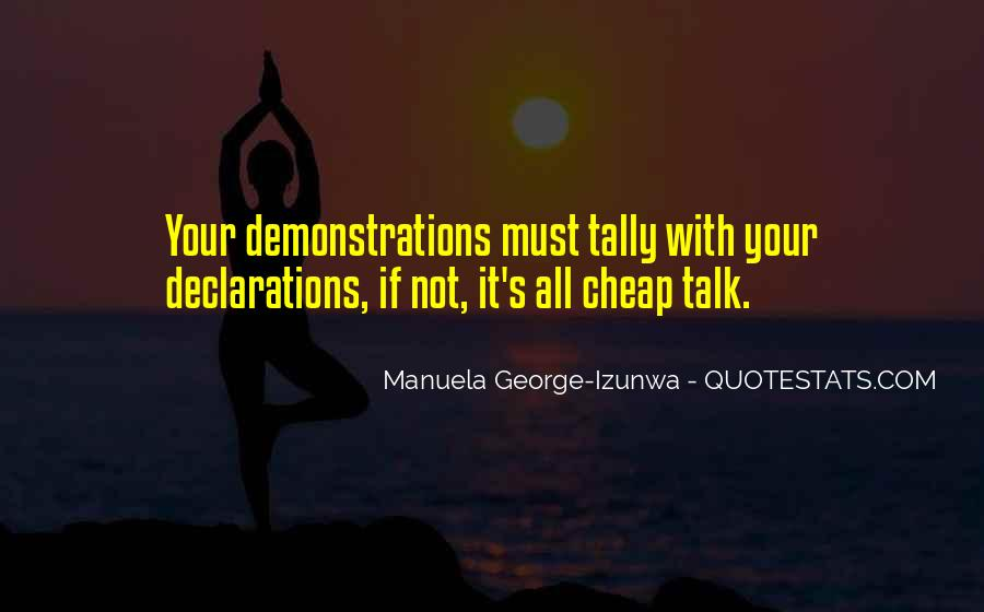 Quotes About Declarations #1782479