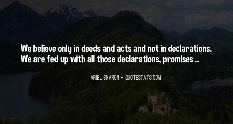 Quotes About Declarations #1842134