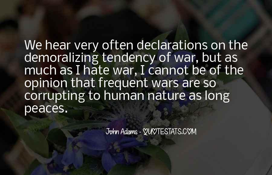 Quotes About Declarations #1844574