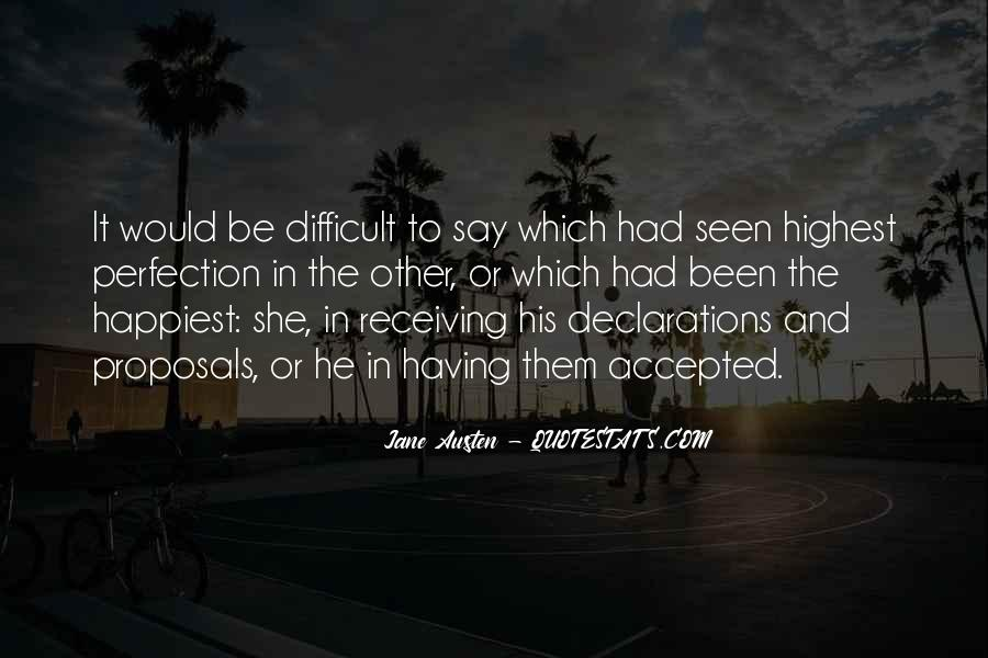 Quotes About Declarations #254198