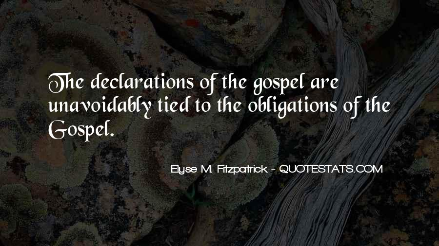 Quotes About Declarations #538514