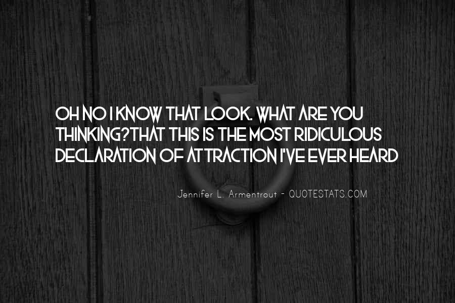 Quotes About Declarations #899520