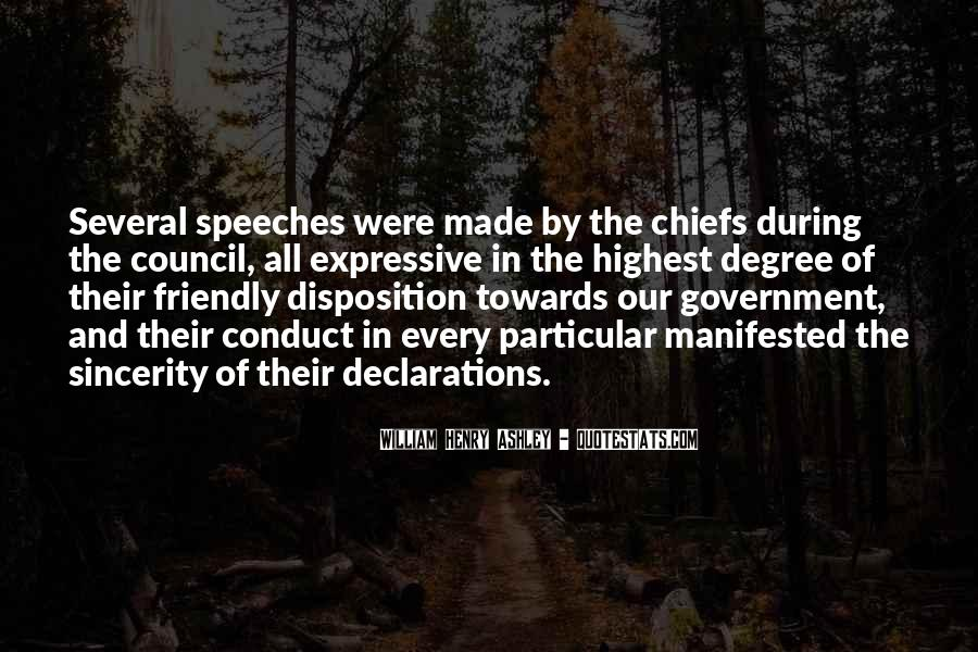 Quotes About Declarations #904812