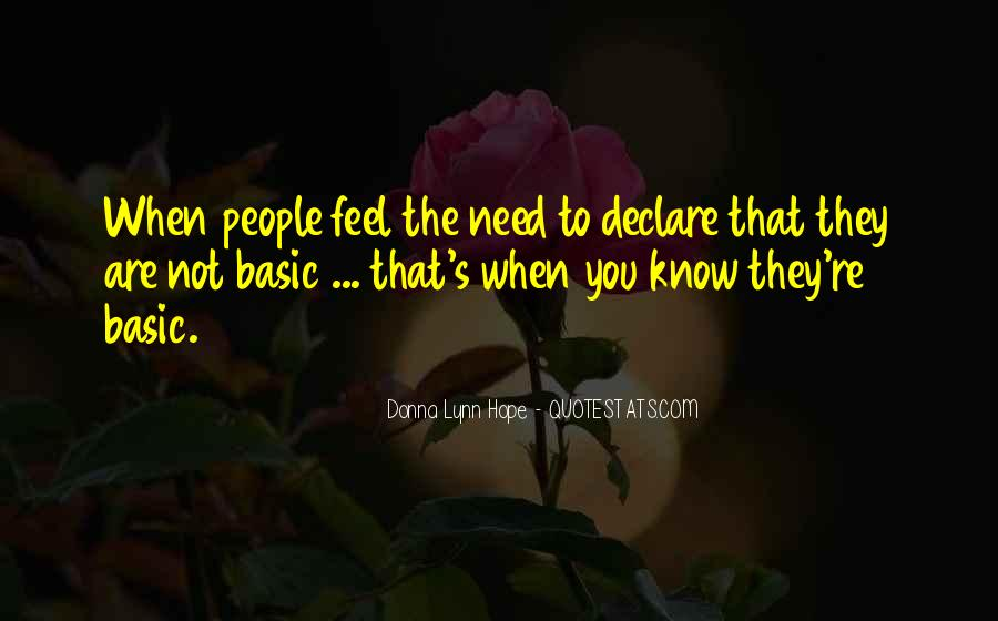 Quotes About Declarations #991313