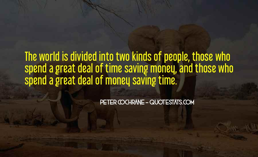 Quotes About Saving Money And Time #1855904