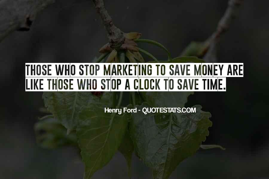 Quotes About Saving Money And Time #195885