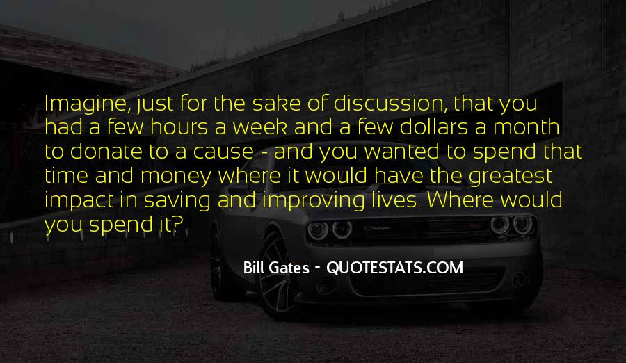 Quotes About Saving Money And Time #409108