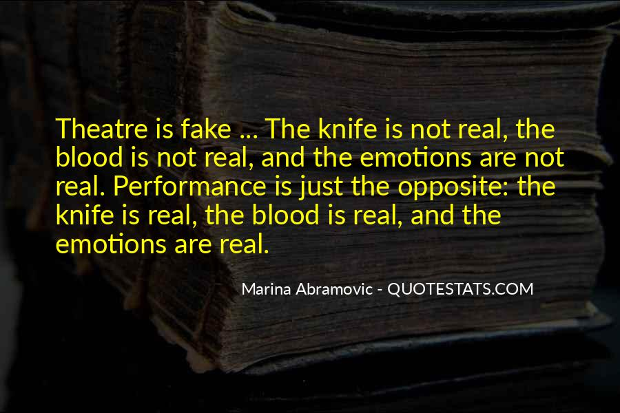 Quotes About Real And Fake #1100427