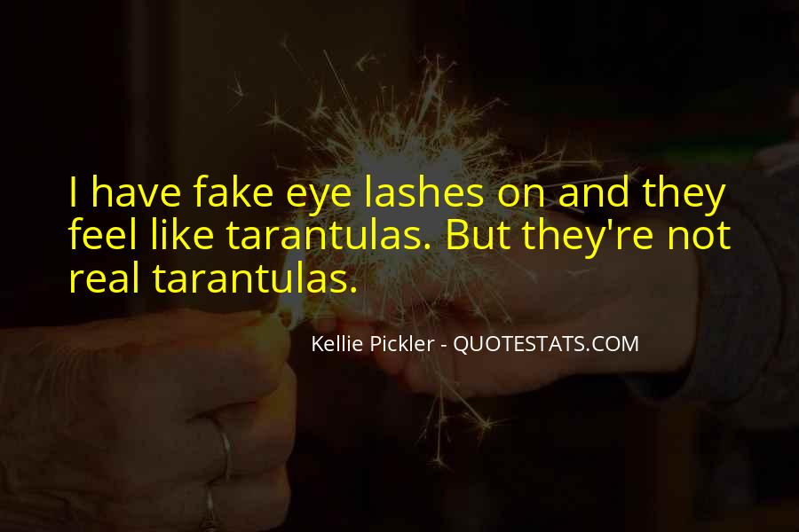 Quotes About Real And Fake #1117413