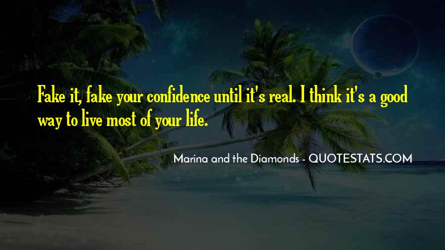 Quotes About Real And Fake #1155325