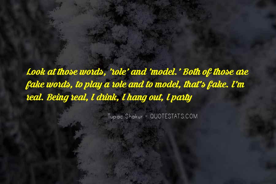 Quotes About Real And Fake #629629