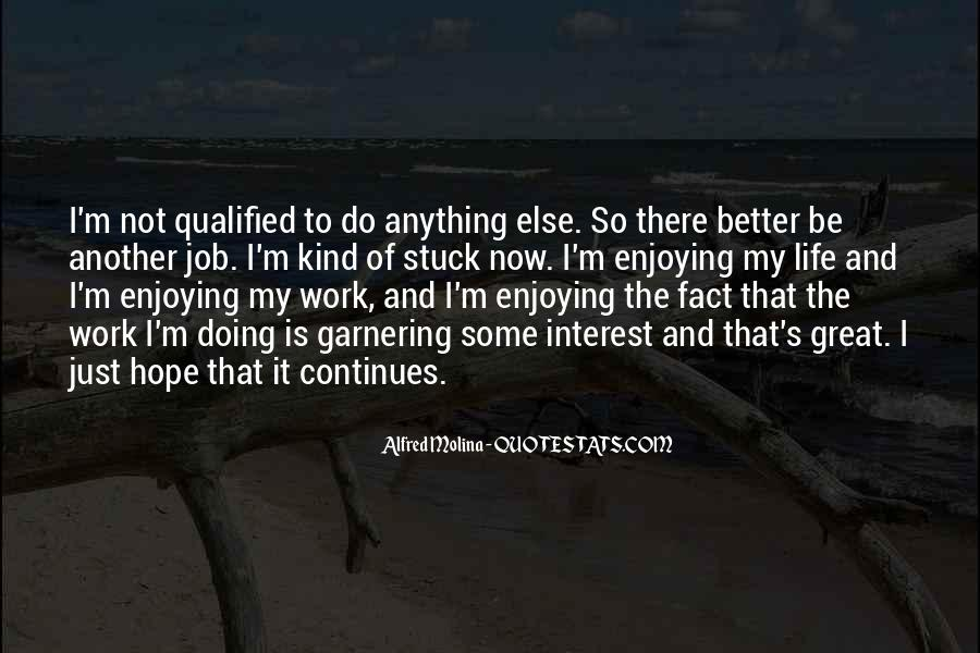 Quotes About Enjoying Your Job #1670264