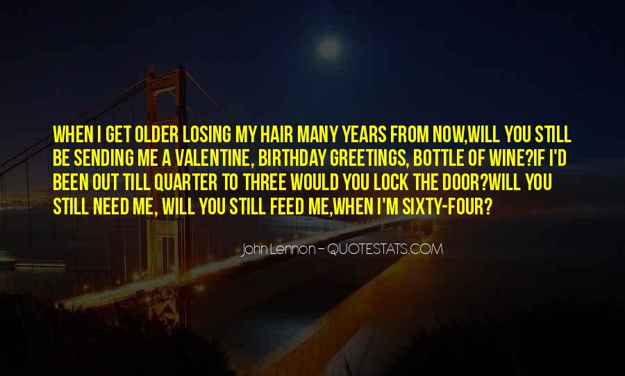 Quotes About Losing Who You Are #14923