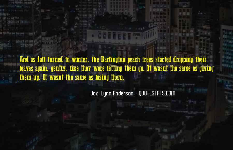 Quotes About Losing Who You Are #14945