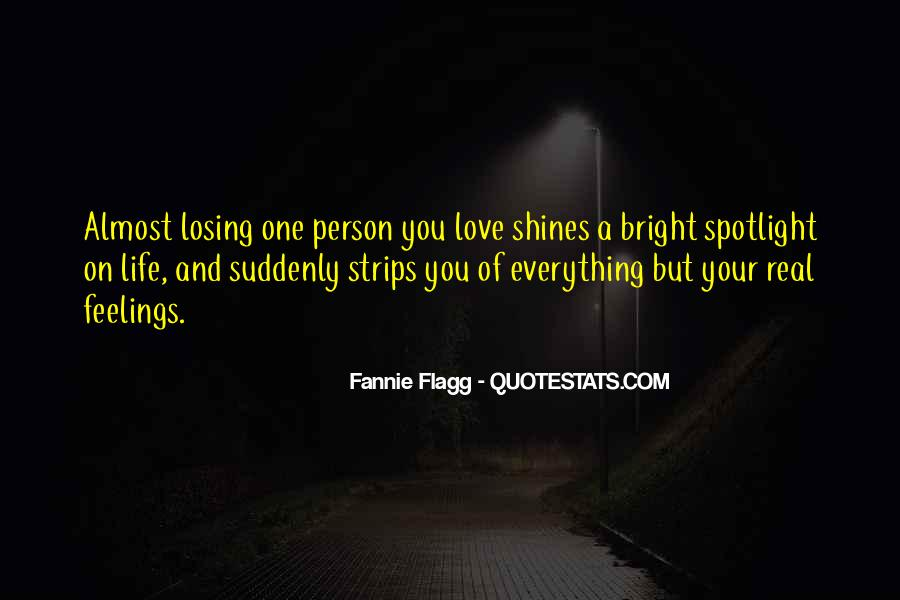 Quotes About Losing Who You Are #18619