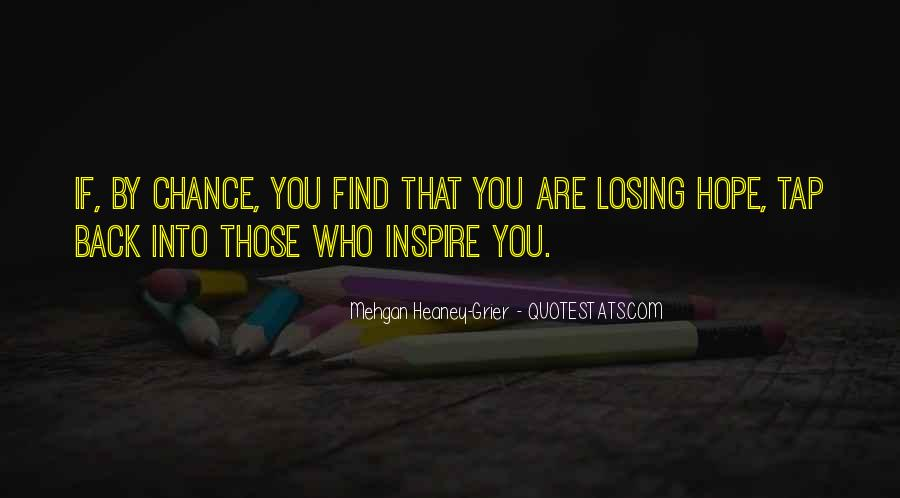 Quotes About Losing Who You Are #889387