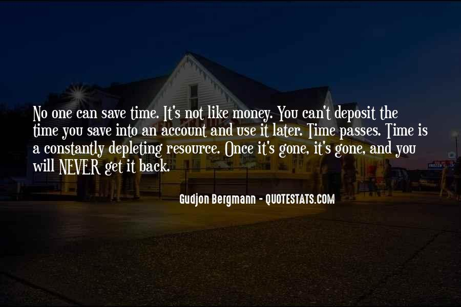 Quotes About Time Not Money #293722
