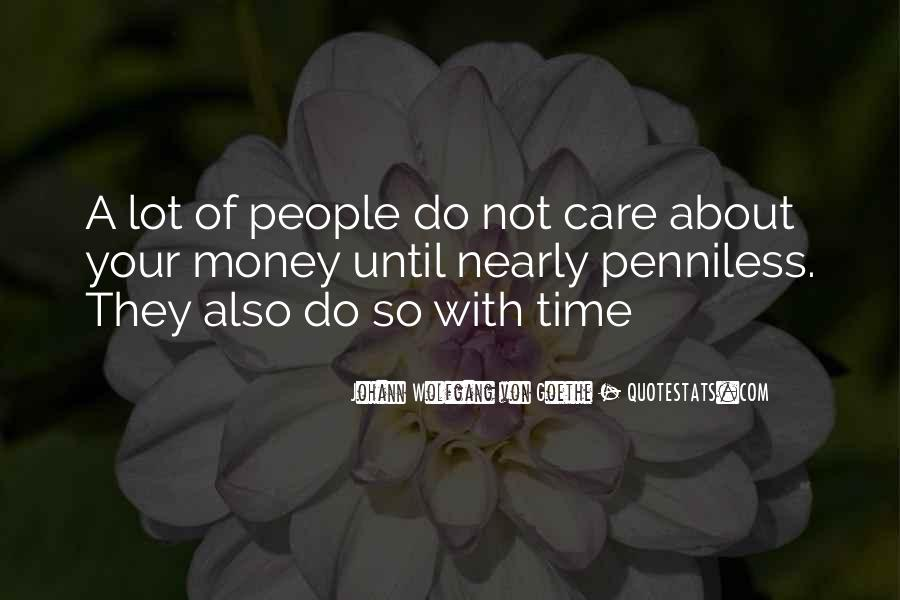 Quotes About Time Not Money #580688