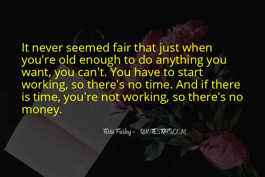 Quotes About Time Not Money #612295