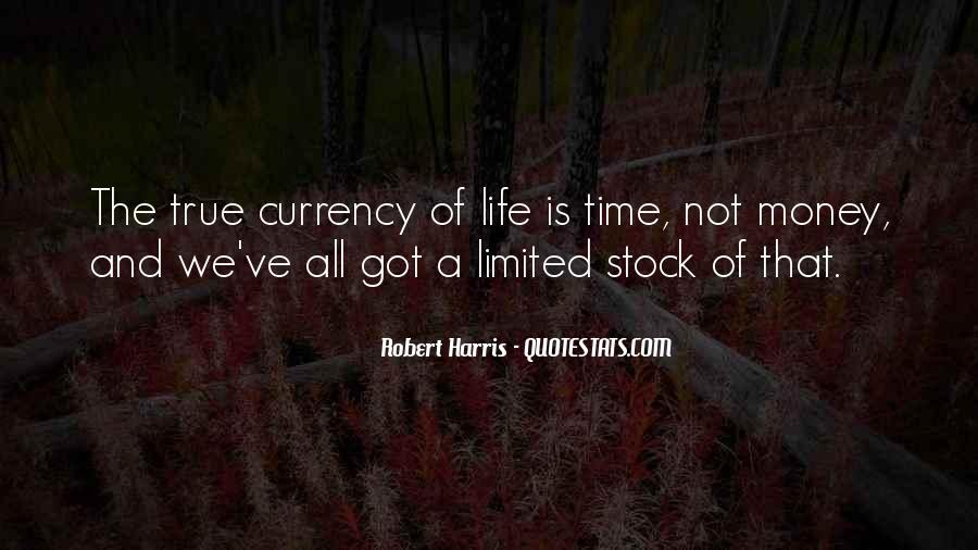 Quotes About Time Not Money #644498