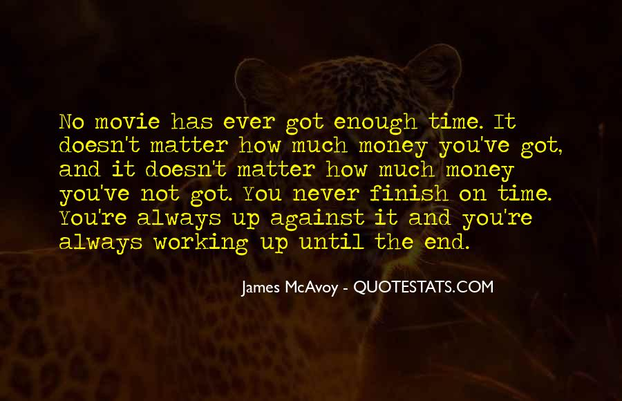 Quotes About Time Not Money #674447