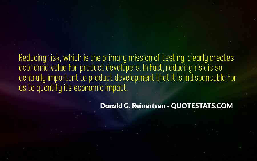 Quotes About Reducing Risk #1144765