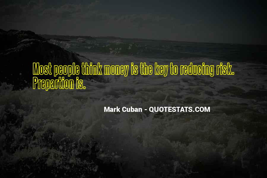 Quotes About Reducing Risk #1307903