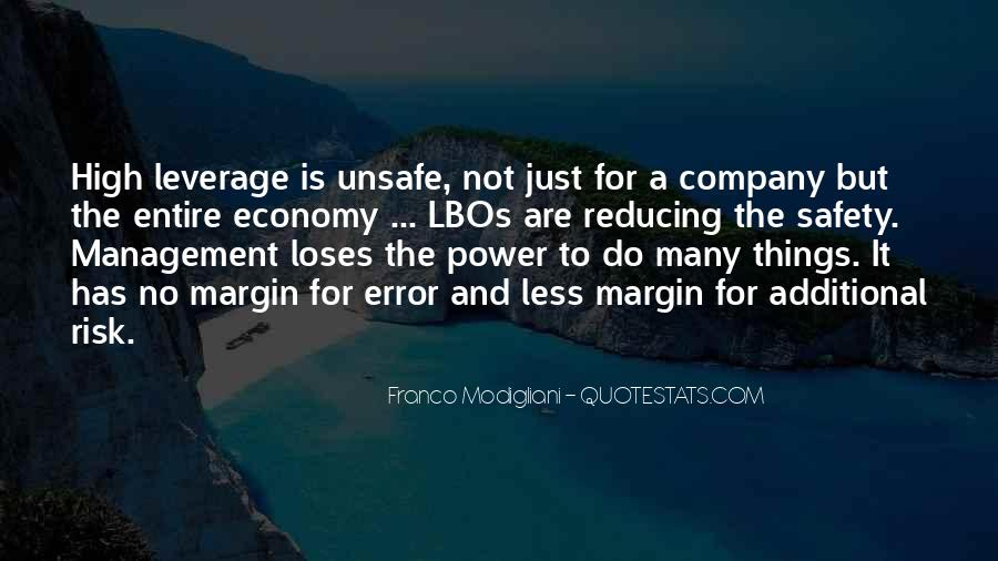 Quotes About Reducing Risk #982286